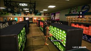 Dead rising clothing jasons orange sneakers jasons