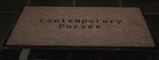 Contemporary Purses Sign