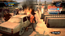 Dead Rising 2 Case Zero burning car