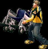 Dead rising wheelchair main