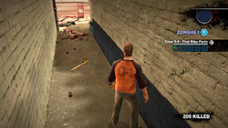 Dead rising 2 case 0 mining pick alley way