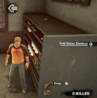 Dead rising case 0 safe house items chef knife