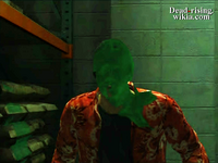 Dead rising paint hitting barricade pair with paint outtake (3)