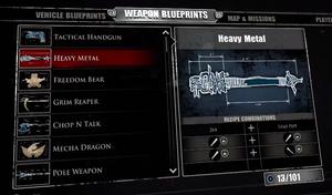 Heavy Metal Blueprint