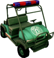 Dead rising Security Cart