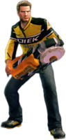 Dead rising plate launcher holding