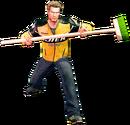 Dead rising push broom alternate