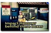 Case west impact blaster impact hammer