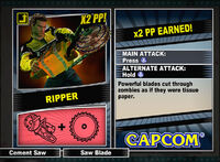 Dead rising 2 combo card Ripper