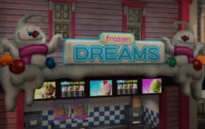 Frozen Dreams Sign