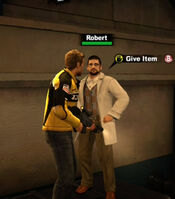 Dead rising Robert give item