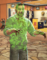 Dead rising spray paint zombie