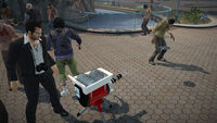 Dead rising Saw Launcher with frank