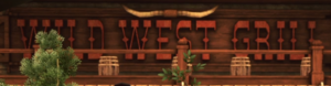 Wild West Grill (Sign)
