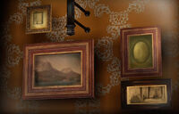 Dead rising director's office paintings over fireplace (2)