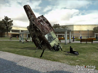 Dead rising helicopter crashed into clock tower (4)