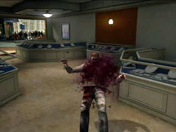 Dead rising wine zombies hit by bottles
