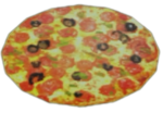 Dead rising Golden Brown Pizza