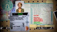 Dead Rising stacey notebook