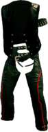 Dead rising Blue Oyster Biker Outfit