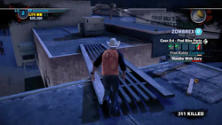 Dead rising 2 case 0 mommas diner roof to bobs (5)