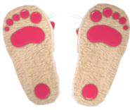 Dead rising Bunny Slippers 3 bottom
