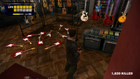 Dead rising electric guitars counted