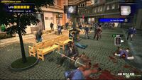 Dead rising frank using barbell in al fresca plaza xbox com
