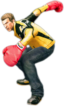 Dead rising boxing gloves combo 2