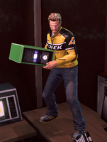 Dead rising Computer case holding