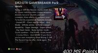 Dead rising off the record gamebreaker pack details