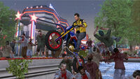 Dead rising frank with Chuck Greene's Motorcyle Jacket (2)