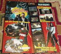 Dead Rising 1 Promo Item - Parkview Mall Brochure Map pow red