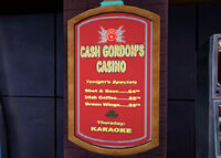 Dead rising cash gordon's casino poster