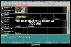 Dead rising case 1-1 start time