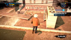 Dead rising 2 case 0 bobs running across roof (4)