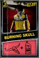 Burningskullcombocard