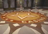Dead rising AMERICANA CASINO ENTRANCE flooring emblem platinum strip