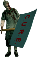 Dead rising zombie protestor adrian