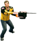 Dead rising chainsaw combo
