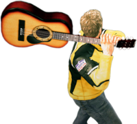 Dead rising acoustic guitar throwing