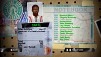 Dead Rising brian notebook