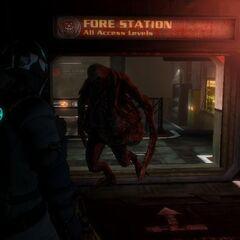 Беременный в Dead Space 3