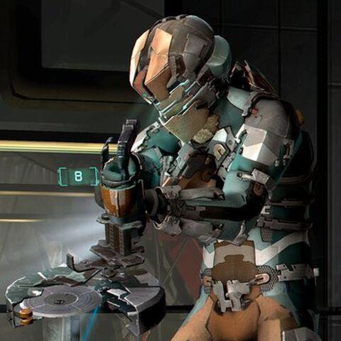 Айзек в Силовом костюме