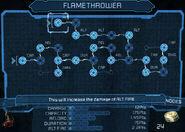 Flamethrower bench 25
