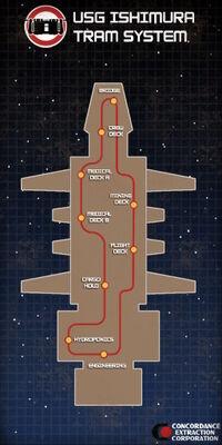 Dead Space Ship Sign 011-noscale