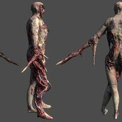 Рендер некроморфа в Dead Space 2.