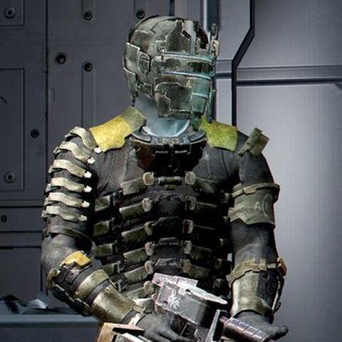 Айзек в Защитном костюме
