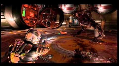 Dead Space 2 Destroying the Tripod Nest