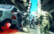 Dead trigger 1 zombies in the street